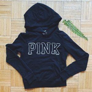 VICTORIAS SECRET PINK • black hoodie